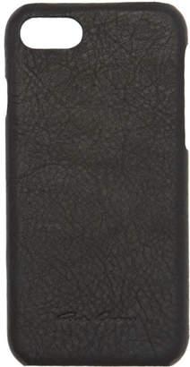 Rick Owens Black Leather iPhone 7 Case