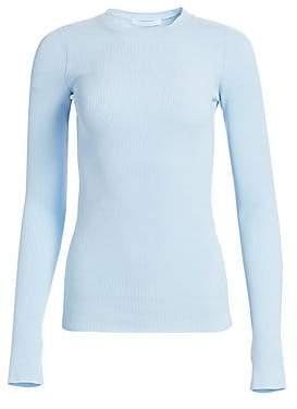 Helmut Lang Women's Ribbed Crewneck Sweater
