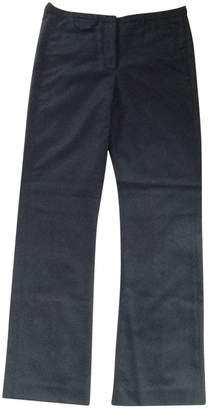 Madame à Paris Black Wool Trousers for Women
