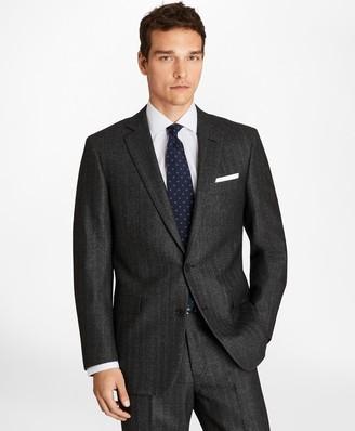 Brooks Brothers Regent Fit Herringbone 1818 Suit