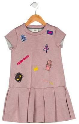 Fendi Girls' Neoprene Dress