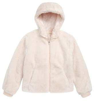 Tucker + Tate Faux Fur Hooded Jacket