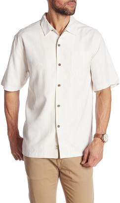 Tommy Bahama Jingle Bell Dock Short Sleeve Silk Original Fit Shirt