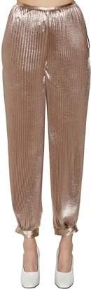 Krizia Pleated Crepe Pants