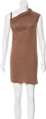Rick Owens Lilies Asymmetrical Mini Dress