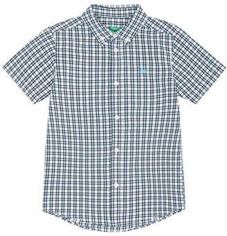 Benetton (ベネトン) - BENETTON (UNITED COLORS OF BENETTON (BOYS) クアドロ総柄半袖シャツ