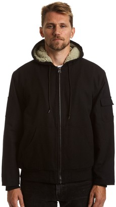 Stanley Men's Canvas Sherpa-Lined Hooded Jacket