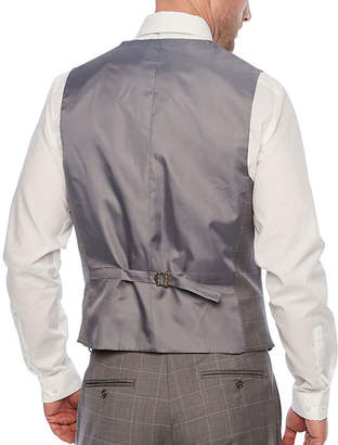 STAFFORD Stafford Grid Classic Fit Suit Vest