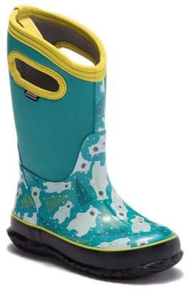 Bogs Classic Bears Waterproof Rain Boot (Toddler & Little Kid)