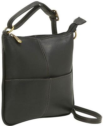 Le Donne Leather Front Pocket Mini Crossbody Bag