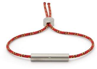 Alice Made This - Charlie Id Bracelet - Mens - Red