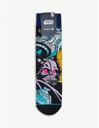 Stance Warped R2D2 cotton-blend socks