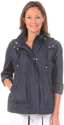 Fleet Street Women's Hooded Short Rain Coat