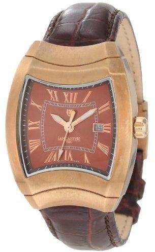Lancaster Women's OLA0341M-MR-MR Brown Dial Dark Brown Leather Watch