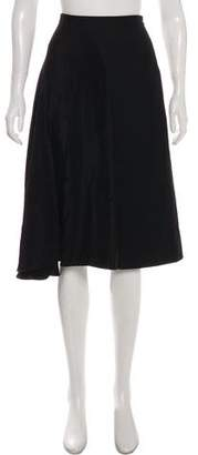 3.1 Phillip Lim Silk Knee-Length Crepe Skirt
