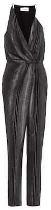 Saint Laurent Silk-blend jumpsuit