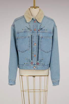 Etoile Isabel Marant Cotton Cadera denim jacket