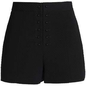 Proenza Schouler Cotton And Silk-Blend Jacquard Shorts