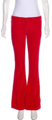 Mother Corduroy Mid-Rise Pants