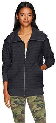 Roxy Women's Lunar Patrol Zip Up Fleece Sweatshirt
