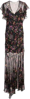 Veronica Beard floral print long dress