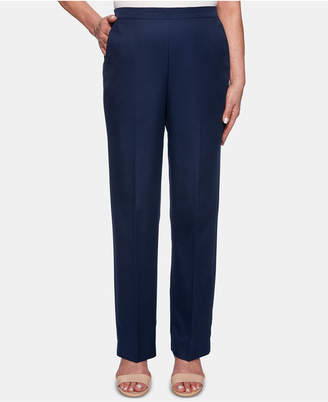 Alfred Dunner Petite In The Navy Pants