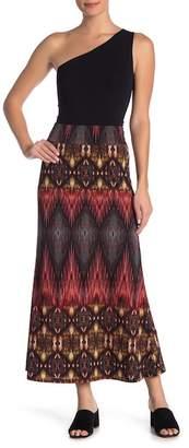 Karen Kane Patterned Maxi Skirt