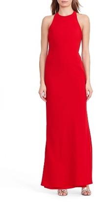 Women's Lauren Ralph Lauren Halter Gown $190 thestylecure.com