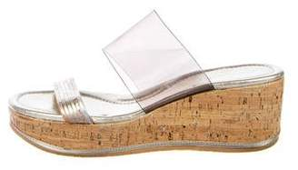 Donald J Pliner Flatform Slide Sandals
