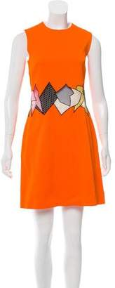 Christopher Kane Sleeveless Mini Dress