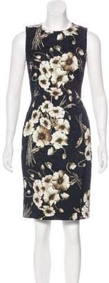 Dolce & Gabbana Patterned Knee-Length Dress