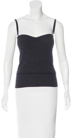 Dolce & GabbanaD&G Knit Bustier Top