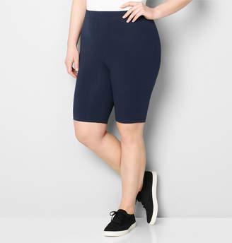 Avenue Pima Cotton Knee-Length Bike Short