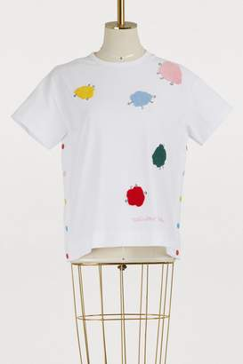Mira Mikati Monster embroidered cotton T-shirt