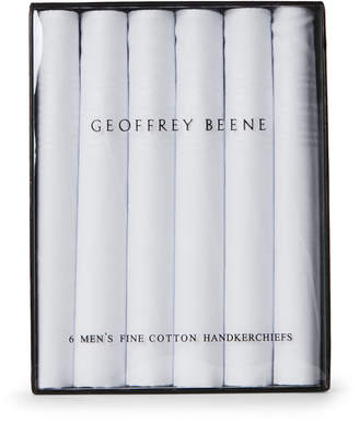Geoffrey Beene 6-Pack Cotton Handkerchiefs
