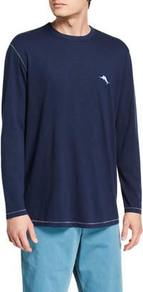 Tommy Bahama Men's Aloha Harding Lux Long-Sleeve T-Shirt