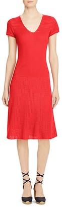 Lauren Ralph Lauren Pointelle Knit Dress $175 thestylecure.com