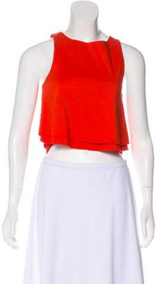 Apiece Apart Sleeveless Crop Top