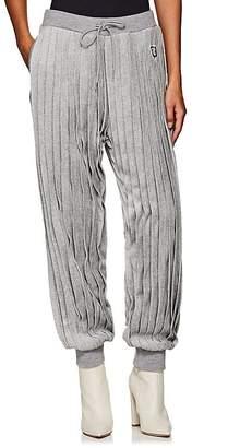 Undercover Women's Pleated Velour Jogger Pants