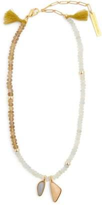 Lizzie Fortunato Marine beaded necklace