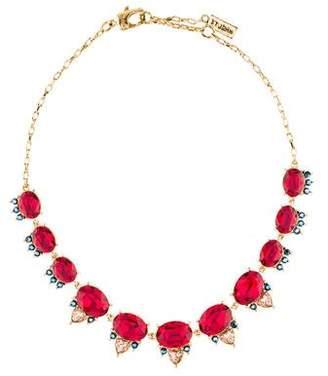St. John Crystal Collar Necklace