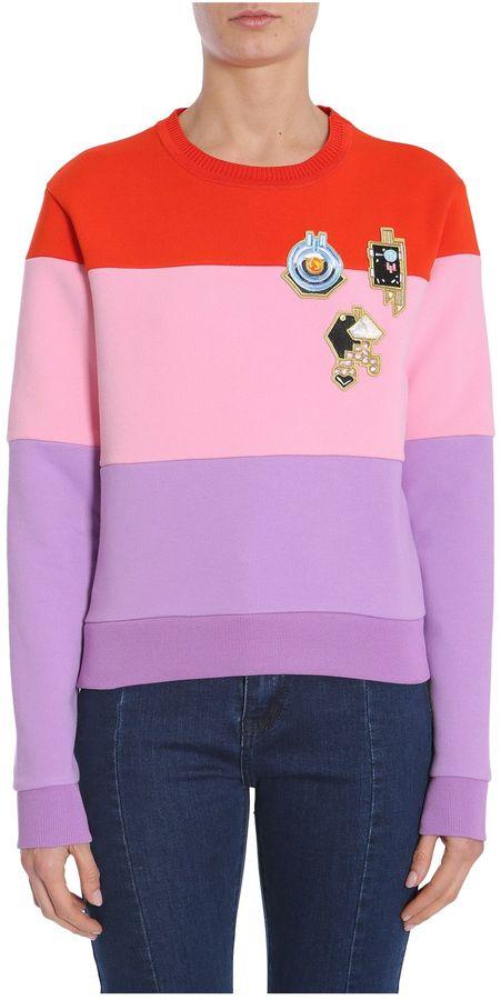 CarvenRound Collar Sweatshirt