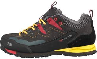 Karrimor Mens KSB Tech Approach Hiking Shoes Charcoal/Yellow