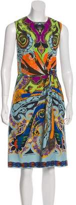Etro Sleeveless Midi Dress
