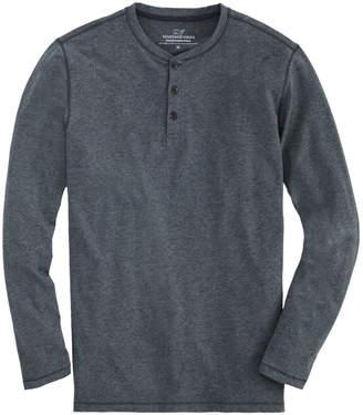 Vineyard Vines Long-Sleeve End-On-End Edgartown Henley Shirt