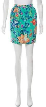 Ungaro Paris Printed Mini Skirt