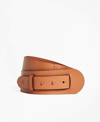 Brooks Brothers Leather Pin-Closure Belt