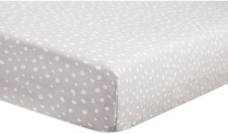 Babyletto Fitted Crib Sheet, Tuxedo Dots