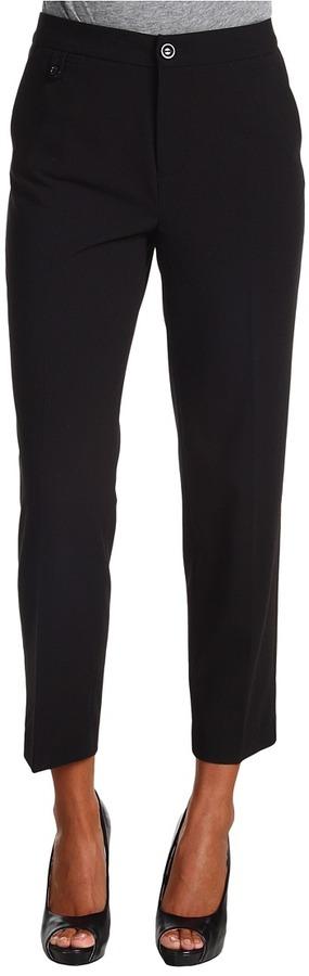 NYDJ - Janet Tab Welt Ankle Trouser (Black) - Apparel