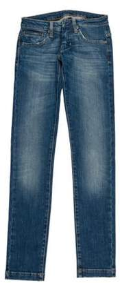 Ring Low-Rise Skinny Jeans blue Low-Rise Skinny Jeans
